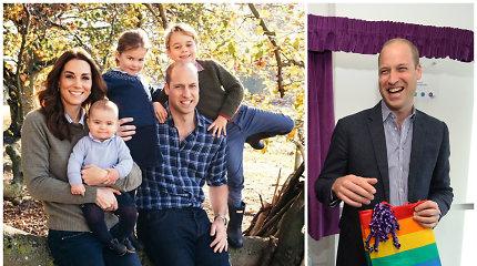"""Princas Williamas atsakė, ką darytų sužinojęs, kad jo vaikai homoseksualūs: """"Palaikyčiau juos"""""""