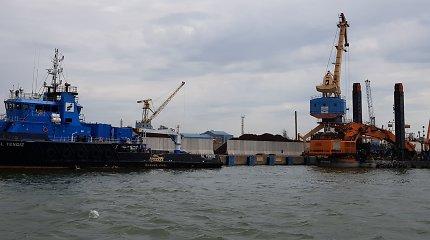 Vyriausybė tvirtins Klaipėdos uosto bendrąjį planą