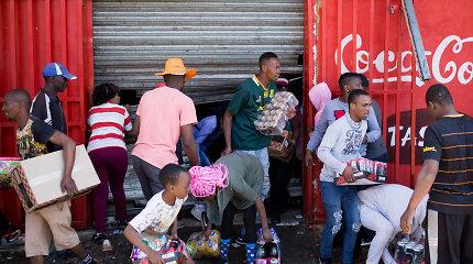 Pietų Afrikos didmiesčiusapėmėplėšikavimo ir smurto banga