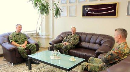 Pasikeitė tarptautinio NATO bataliono Lietuvoje vadas