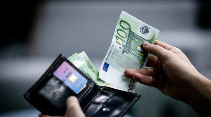 Ministerija siūlo minimalią algą didinti 35 eurais