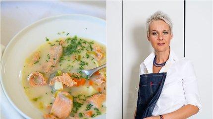 Nidos receptas: suomiška pavasarinė lašišų sriuba