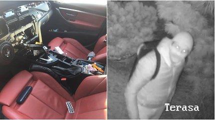 Apvogtas kaunietis viešina įtariamo vagies veidą ir siūlo jo nuotraukas pasikabinti garaže ant sienos