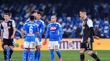 """Staigmena Italijoje: """"Juventus"""" gavo pamoką Neapolyje"""