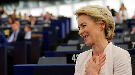 """U.von der Leyen: """"Brexit"""" nebus galas santykiams su Jungtine Karalyste"""