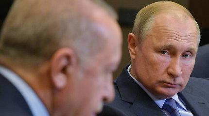 Turkų apžvalgininkas: Rusija R.T.Erdoganu naudojasi, kad pasiektų savo tikslus