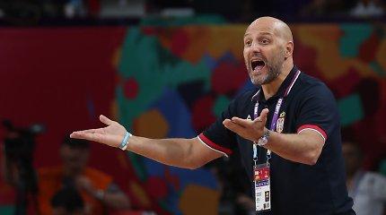"""A.Džordževičius: """"Aš sakiau M.Teodosičiui nežaisti Europos čempionate"""""""