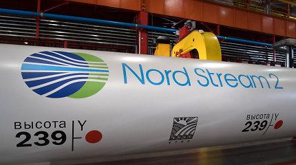 """JAV sustabdžius """"Nord Stream 2"""" tiesimą, """"Gazprom"""" Vokietijoje patiria nuostolių"""