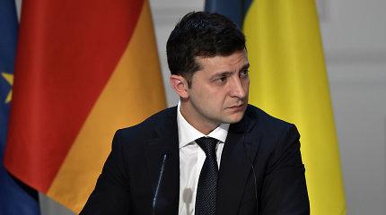 V.Zelenskis nepriėmė premjero O.Hončaruko atsistatydinimo