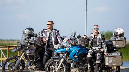 Pasaulį motociklu apkeliavusi A.Dovydėnaitė: nepažįstu nė vieno, kuris į kelią išriedėtų be pilnos apsauginės aprangos