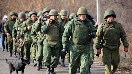 Kijevas ir Donbasas po trejų metų užbaigs pajėgų atitraukimą bandomuosiuose ruožuose