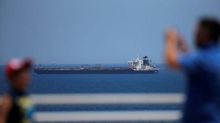 Gibraltaro policija suėmė areštuoto Irano tanklaivio kapitoną ir jo padėjėją