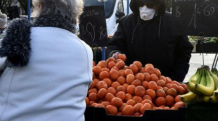 Prancūzijoje šią savaitę vėl pradės veikti ketvirtadalis maisto turgų