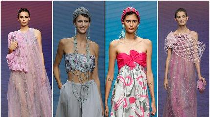 Giorgio Armani kitų metų vasaros kolekcijoje – meilė saulei ir jūrai
