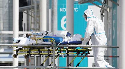 Rusijoje – per 22,2 tūkst. naujų COVID-19 atvejų, mirė 779 pacientai