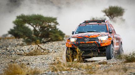 """Antanas Juknevičius parduoda savo Dakaro """"Hilux"""": įvardijo, kokiu automobiliu norėtų startuoti kitame Dakare"""