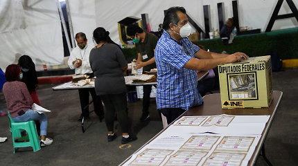 Meksikos valdantieji prarado absoliučią daugumą žemuosiuose Kongreso rūmuose