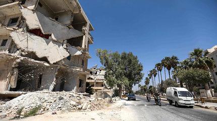 Rusijos ir Turkijos pajėgos kovo 15-ąją pirmą kartą kartu patruliuos Idlibo greitkelyje M4