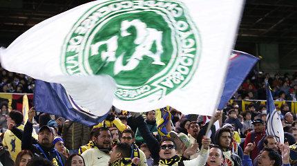 """""""Chapecoense"""" atsisakė išskirtinių sąlygų Brazilijos pirmenybėse, įsigis 20 žaidėjų"""
