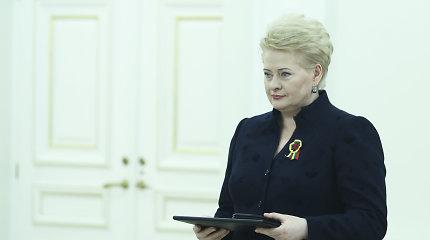 Prezidentūroje bus įteiktos Nacionalinės kultūros ir meno premijos
