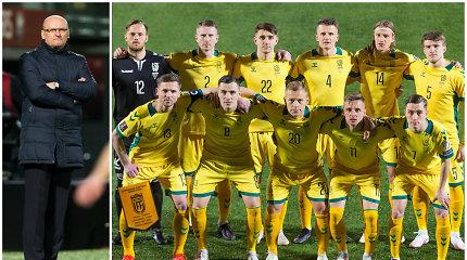 Lietuva – Italija 0:2. Pažymiai rinktinės žaidėjams ir treneriui