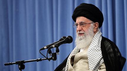 Ali Khamenei: Ukrainos lėktuvo katastrofa neturėtų temdyti Q.Soleimani aukos