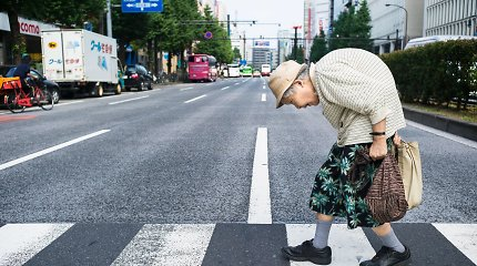 Japonija sensta: žylanti tauta fiksuoja žemiausią gimstamumą nuo pokario