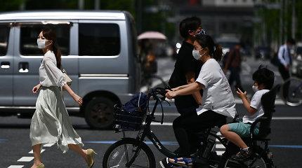 Japonijos ekonomika pernai traukėsi pirmą kartą nuo 2009-ųjų