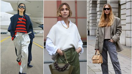 Madingiausios kelnės šį rudenį: kokias rinktis ir prie ko derinti?
