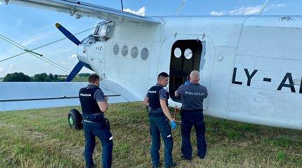 Prienų rajone iš aerodromo pavogtas lėktuvas, jo viražai mieste šiurpino liudininkę