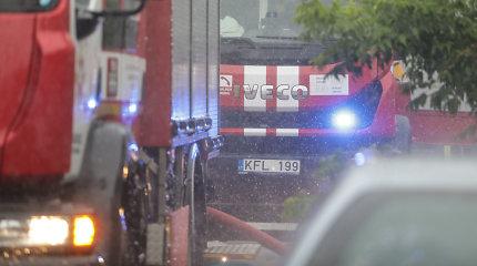 Garsiame Kauno vaikų darželyje pirmadienio rytą sujaukė nedidelis gaisras