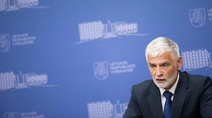 Buvęs žemės ūkio ministras B.Markauskas vadovaus Seimo Migracijos komisijai