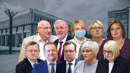 Dešimt buvusių Seimo narių tapo pagalbininkais: A.Palioniui talkins G.Kirkilas, P.Gražuliui – N.Puteikis
