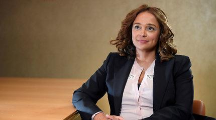 Buvusio Angolos prezidento dukra Isabel dos Santos apkaltinta sukčiavimu