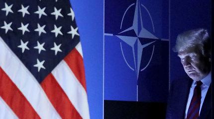 """""""The New York Times"""": D.Trumpas skeptiškas dėl JAV narystės NATO"""
