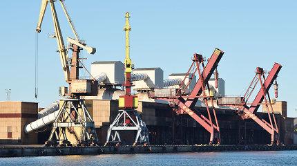 Krova Ventspilio uoste šiemet sausį – 6 proc. solidesnė