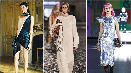 Madingiausios suknelės šį rudenį: kokias rinktis ir ką prie jų derinti?