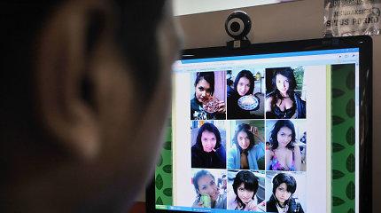 Atsargiai su pokalbiais internetu: įrašai atsiranda pornografinėse svetainėse ir uždirba milijonus