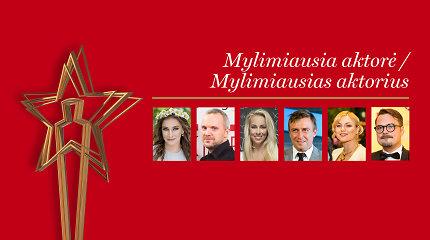 ŽMONĖS 2017: išrinkite Mylimiausią aktorę ir aktorių!