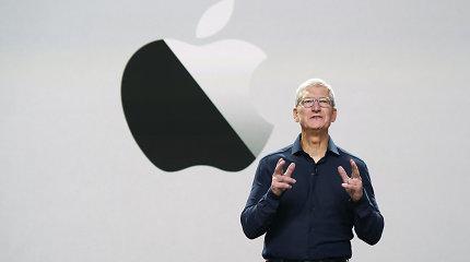 """""""Apple"""" vadovas T.Cookas papildė milijardierių gretas"""