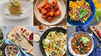 """Iššūkis """"Veganiška savaitė"""": 6 nesudėtingų ir greitų patiekalų receptai"""