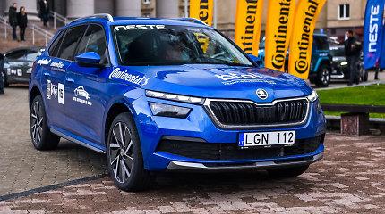 """Škoda Kamiq – konkurso """"Metų automobilis 2020"""" dalyvis"""