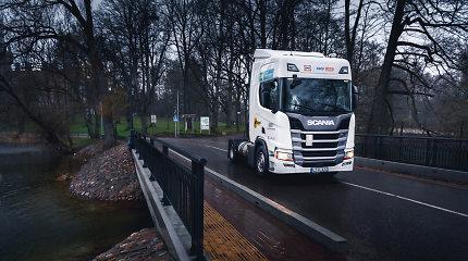 """Dėl sustabdytos """"Scania"""" gamybos užsakymai Lietuvoje kiek vėluos"""