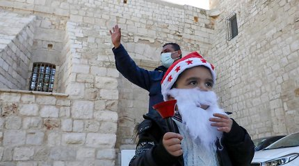 Palestiniečių krikščionys ruošiasi švęsti Kalėdas Betliejuje, nepaisant įvestų apribojimų