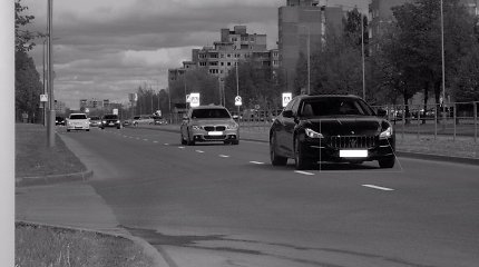 """Kaune 128 km/val. greičiu skriejusiam """"Maserati"""" vairuotojui teks pamiršti lakstūno dienas"""