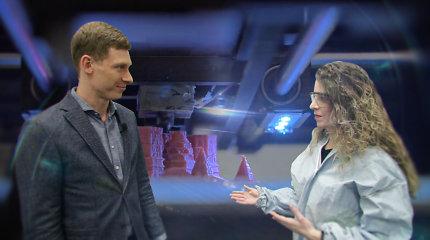 """3D prototipų gamintojas Karolis tapo """"pokyčių direktoriumi"""": spausdina medicininę įrangą ir krevečių kepimo formeles"""
