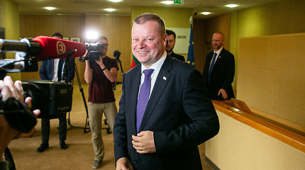 Premjeras: tikėtina, kad su LVŽS kandidatuosiu rinkimuose