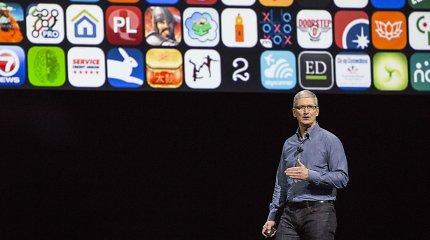 """Timas Cookas paaukojo labdarai 5 mln. JAV dolerių vertės """"Apple"""" akcijų paketą"""