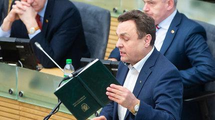 """Parlamentarai nori paslėpti rinkimų duomenis ir nedeklaruoti susitikimų: """"Esam skundikų tauta"""""""