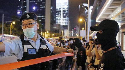 Honkongo laisvių pabaiga? Svarbiausi klausimai ir atsakymai apie saugumo įstatymą